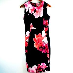 Calvin Klein Floral Hibiscus Dress